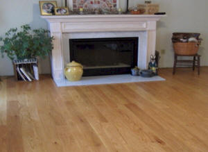 RSL Millworks Custom Living Room Flooring Photo